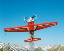 Greg Poe over Sawtooth Mountains Boise, ID 6/18/00